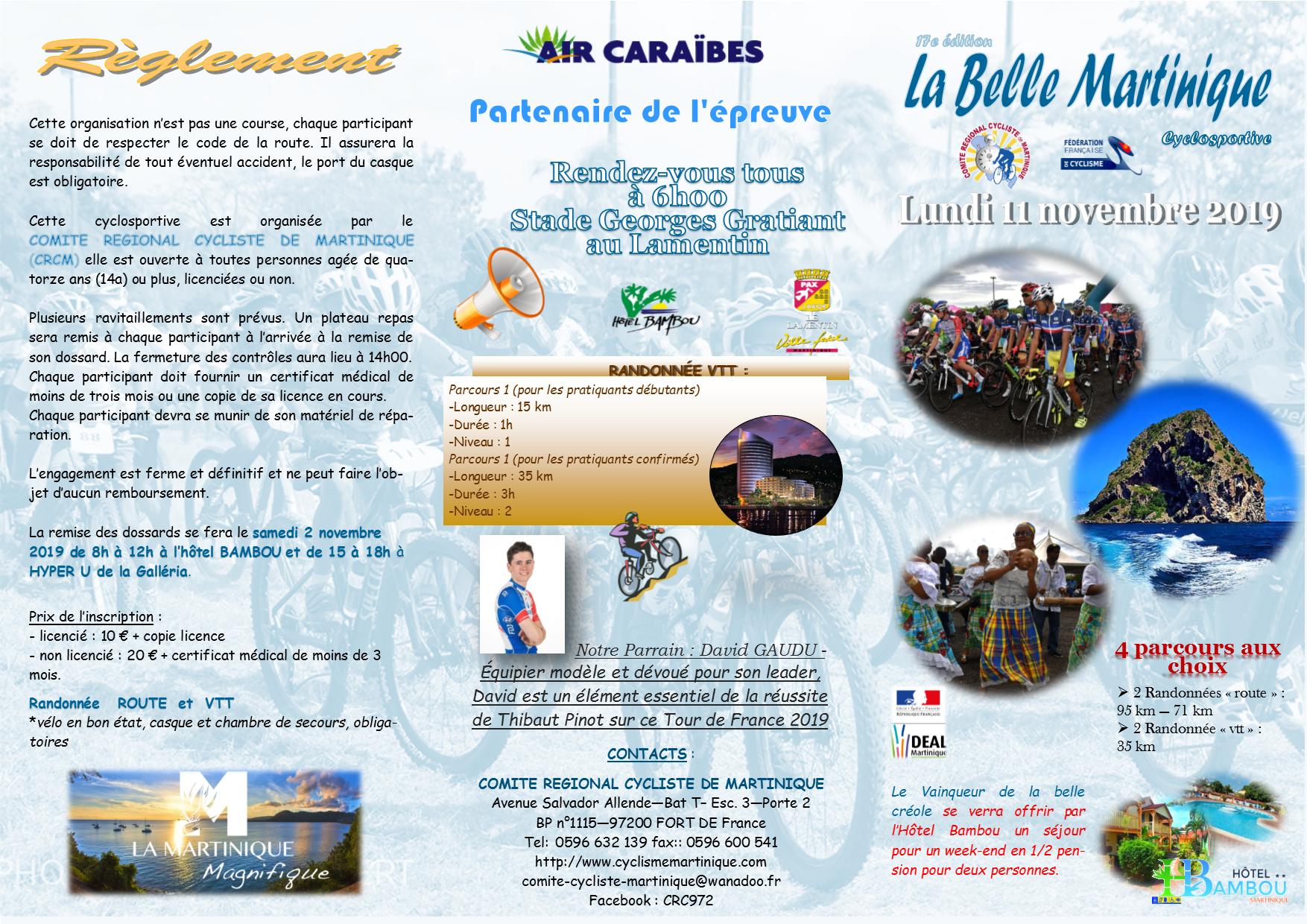 Belle Martinique 2019 brochure 2