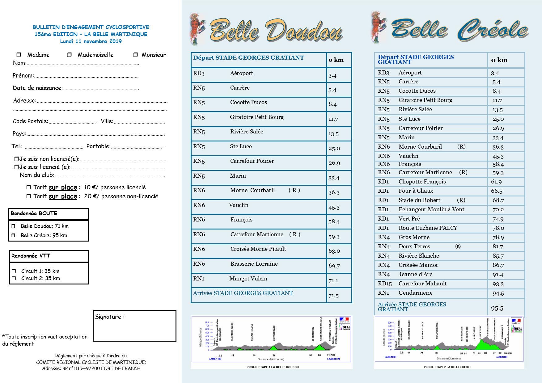 Belle Martinique 2019 brochure 3