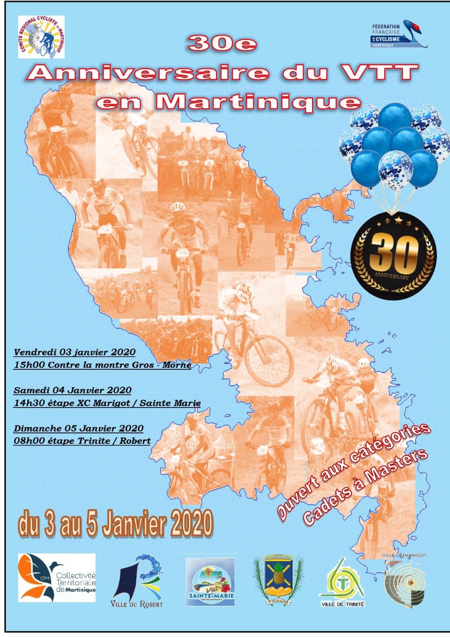 30e Anniversaires Du Vtt Resultats Comite Regional Cycliste De Martinique